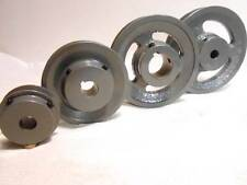 "100's of NEW Cast Iron V Belt Pulley 1.55"", 1.75"", 2"", 2.3"" 2.5"" All Bore Sizes"