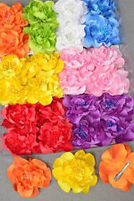 PICK 1 girls GERBER daisy FLOWER hair BOW clip NATURAL look BRIGHT SPRING COLORS