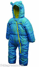 Dare2b Bugaloo Kids Padded Snowsuit - All in One   Blue Reef
