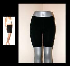 BLACK SHORTS LEGGINGS LYCRA TIGHTS STRETCH WORKOUT DANCE S, M, L, XL, 2X, 3X