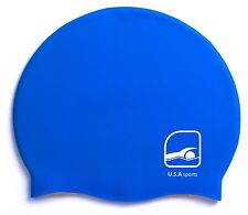 Adult Silicone Swim Cap Flexible Durable Swimming Hat