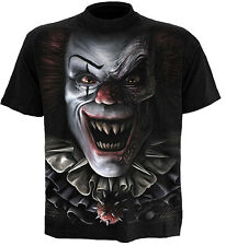 Spiral Direct CIRCUS OF TERROR t-shirt/tee/top scary clown/evil/gothic/horror