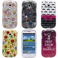 Lovely Owl Crown Image Soft Silicone Case Cover for Samsung Galaxy S3 Mini I8190