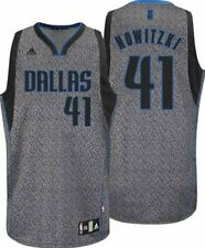 Adidas NBA Youth Boys Dallas Mavericks Dirk Nowitzki #41 Static Fashion Jersey