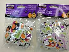 HALLOWEEN FOAM STICKERS ASSORTED SHAPES BY CREATOLOGY NIP