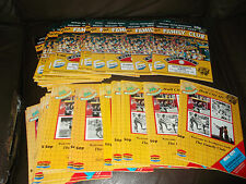 Hull City home programmes 1986/87 - 87/88