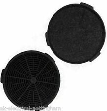 """Cooker Hood Round Belling 082634487 5"""" 127mm Charcoal Active Carbon Filter x 2"""