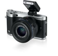 Samsung NX300 Mirrorless Digital Camera with 20-50mm F/3.5-5.6 ED II Lens Black