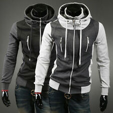 Fashion Cool Men's Slim Fit Winter Warm Hooded Coat Hoodies Outwear Overcoat New
