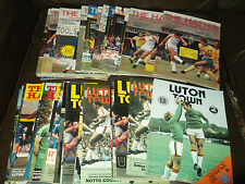 Luton Town homes 1979/80 - 1981/82