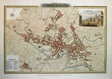 Reproduction Map of BLACKBURN 1824 ... A1 A2 A3 A4 Sizes