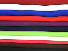 """60"""" wide Double Georgette Dress Fabric - Full Range of Colours"""