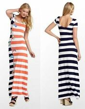 $198 Lilly Pulitzer Ramsay Resort White Raise The Sails Maxi Jersey Dress XS