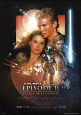 New Star Wars Episode II Attack Of The Clones Movie Score Poster