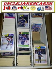 1983-84 OPC CALGARY FLAMES Select from LIST SEE SCAN NHL HOCKEY CARDS O-PEE-CHEE