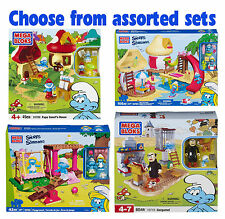 MEGA BLOKS - Smurfs Sets - Choose from Assorted Designs