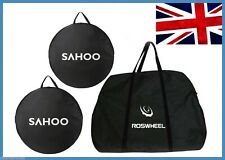 BIKE TRAVEL TRANSPORT FRAME WHEEL BAG cycle bicycle box case luggage set UK