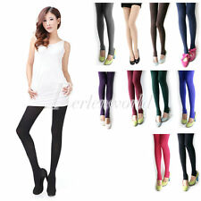 Sexy Stylish Women's Nylon Stirrup Opaque Pantyhose Tights Leggings Solid Color