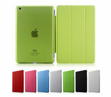 Slim Magnetic PU Leather Smart Cover + Hard Back Case For Apple iPad 5 air 2013