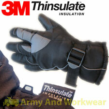 Mens Warm 3M Thinsulate Lined Thermal Insulated Warm Adults Padded Ski Glove
