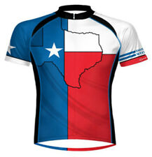 Primal Wear Texas Flag Cycling Jersey Men's Short Sleeve with Socks