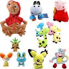 Cute Pokemon Multi Style Soft Plush Stuffed Animal Toys Monster Doll Kids Gift