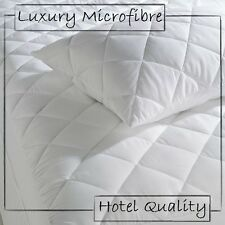 "Non-Allergenic Extra Deep 12"" Quilted Mattress Protector - Avl In All Sizes"