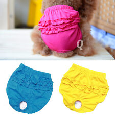 Lovely Sanitary Underwear Trousers Short Panty Pant For Puppy Pet Dog XS-L New