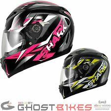 SHARK S700-S NASTY FULL FACE DROP DOWN VISOR MOTORBIKE MOTORCYCLE CRASH HELMET