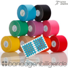 2x Kinesiology Tape - Kinesiologie Tape - Sport Tape Tapes Taping 5cm x 5m