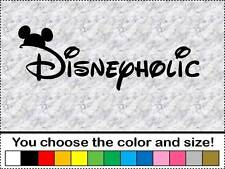 Disneyholic Vinyl Decal Car Sticker Bumper Mouse Ears Disney Love Mouse Family