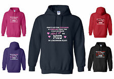 I can go from MAKE UP to MUD in 2 SECONDS! FUNNY HORSE / SPORT HOODY, S - XXL
