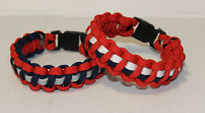 New England Patriots Inspired Paracord Bracelet, Current/Retro style, Free Brady
