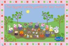 New Peppa Pig The Biggest Muddy Puddle Poster