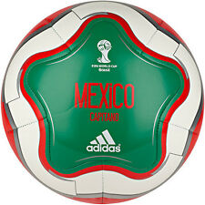 adidas WC World Cup 2014 Capitano Mexico Soccer Ball Brand New Green / Red