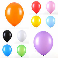 "UK Stock 100 X 12"" Latex Balloons Celebration Wedding Party Decoration 11 COLORS"