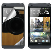 For HTC ONE M7 Mirror Screen Protector LCD Film Shield Cover