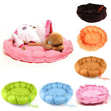 New Small Medium Pet Puppy Dog Soft Nest Bed Or Mat Dual Use Free Shipping
