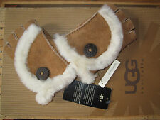 UGG Gloves Fingerless Chestnut Mini Bailey New 'Pick Size'