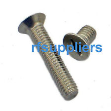 100x NEW Kinds of 4-40 Stainless steel cross Countersunk Machine Screws Bolts HQ