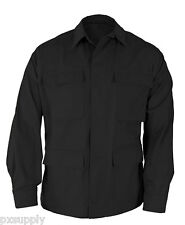 bdu coat black shirt tactical military genuine gear by propper F5450 rip stop