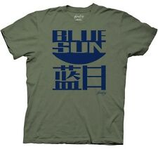 AUTHENTIC FIREFLY BLUE SUN LOGO SERENITY BROWNCOATS TV SHOW MENS T SHIRT S-2XL