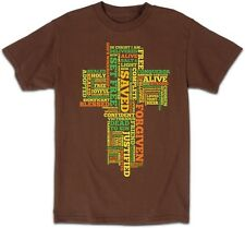 Christian T-Shirt In Christ I Am Delivered Alive...