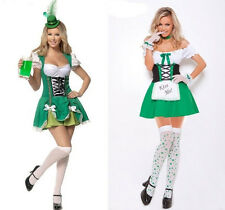 Sexy German Beer Girl Maid Bar Wench Halloween Costume Oktoberfest Fancy Dress