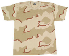 t-shirt camo tri color desert camouflage youth kids various sizes rothco 66706