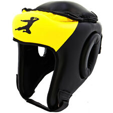 Bruce Lee Signature Boxing Head Guard Synthetic Leather