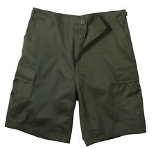shorts olive drab bdu military style cotton rip stop or poly cotton rothco 7053