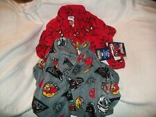 Angry Birds, Star Wars And Spiderman Boy's Microfleece Robe S(6/7) M(8) L(10/12)