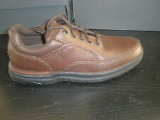 Rockport World Tour Classic 2 Walking Shoe Brown Tumbled New!!