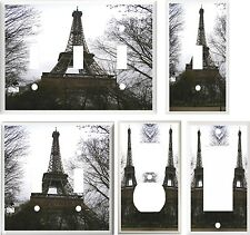 PARIS FRANCE EIFFEL TOWER #2  IMAGE  LIGHT SWITCH COVER PLATE U PICK SIZE